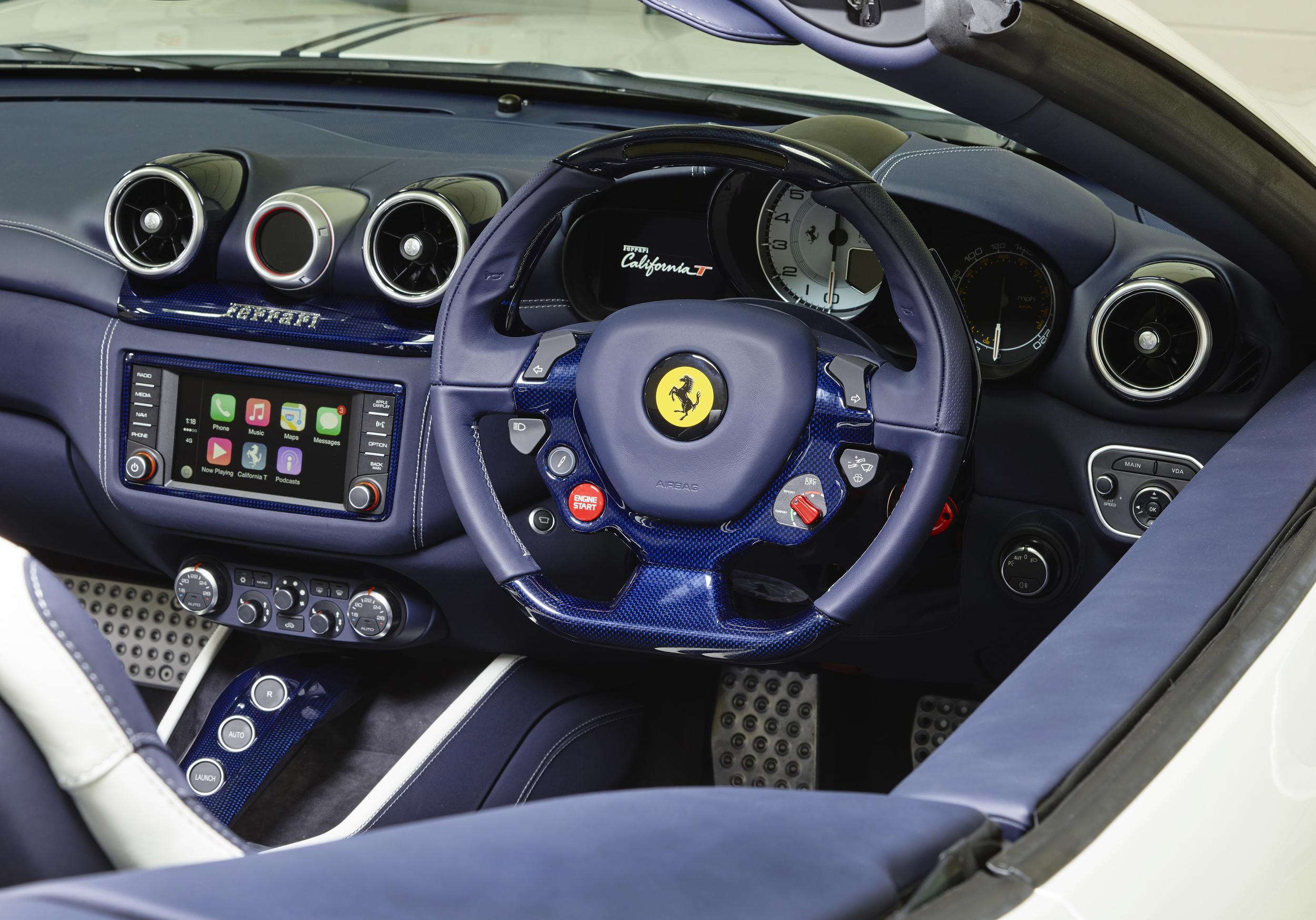Dressed-up Ferrari California T Debuts New Interior Upholstery