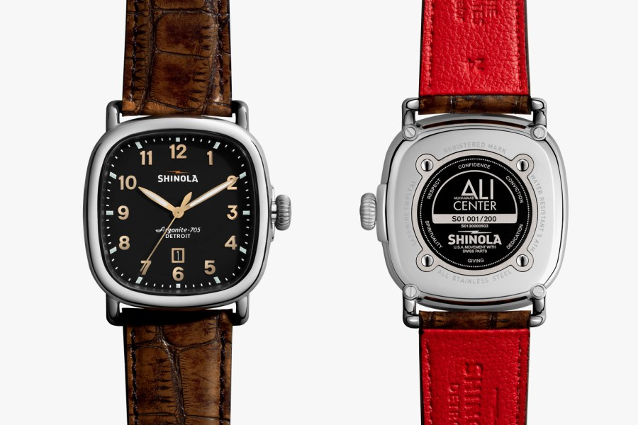 The Muhammad Ali Shinola Watch-01