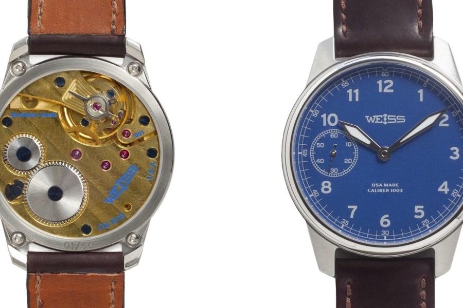 Weiss American Watch