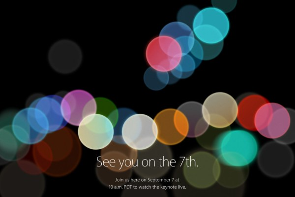 Apple September 7 Event