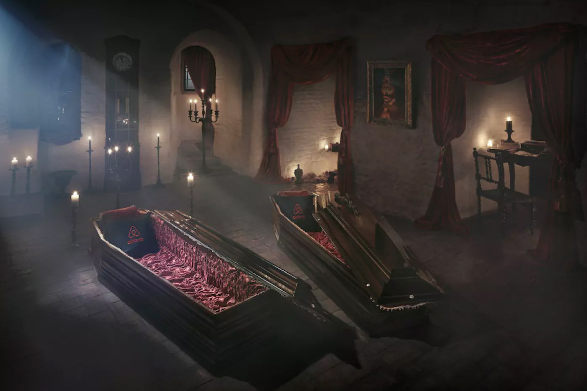 airbnb dracula sweepstakes airbnb is giving you a chance to stay in dracula s castle 8015
