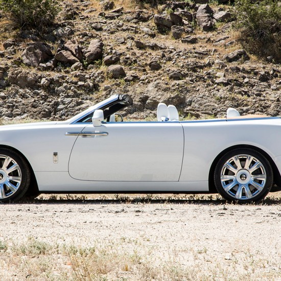 2017 Rolls Royce Dawn Transmission: Baracuta Suede G9 Harrington Jacket