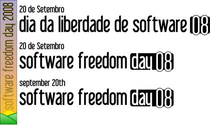 Dia da liberdade do Software!