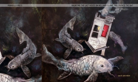 Haunting the Last House on Holland Island, Fallen into the Bay (Porkbelly Press, 2016) by Sarah Ann Winn (cover: Angie Reed Garner)