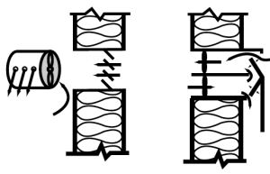 "Figure 2. Examples of air ""blenders,"" —not heat exchangers."