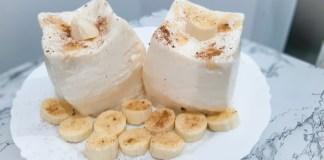 Sobremesa de banana