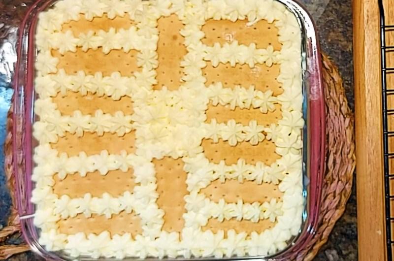Torta Preguiçosa de Bolacha