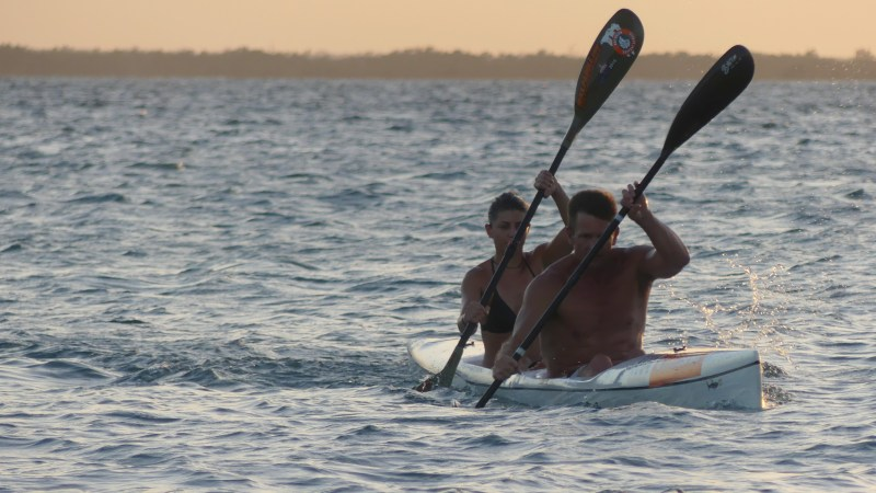 Duo Paddle 67km to save Shongweni Reserve after Land Claim Ruin
