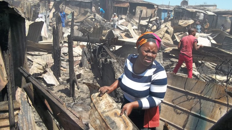 Relief for residents displaced after Khayelitsha fires