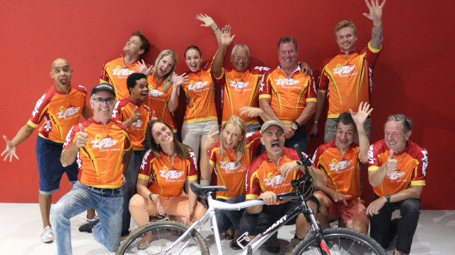 Cape Town Cyclists Crowdfund for the Circus