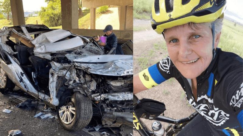 43 days after her tragic accident, Pietermaritzburg cyclist, Ingrid Flint (57), has sadly passed away.
