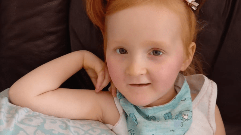 [WATCH] Holly (3), born with Rett Syndrome, chooses her 'voice' in heart-warming video.