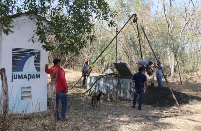 Se anticipa la sequía y JUMAPAM ahonda el pozo de extracción de Juantillos