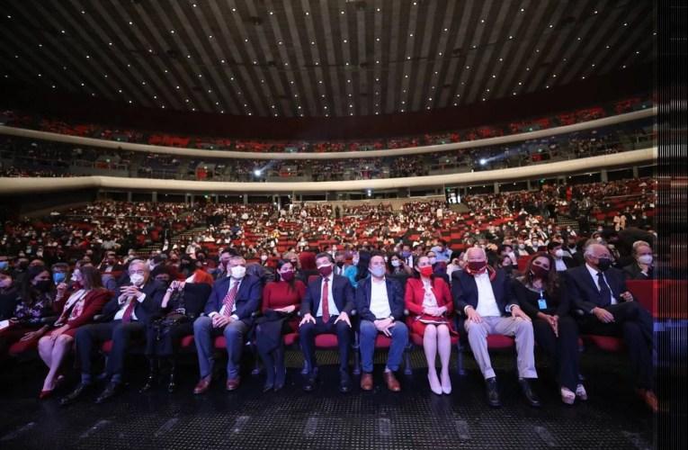 Rubén Rocha Moya celebra la transformación de México a 3 años del triunfo de AMLO