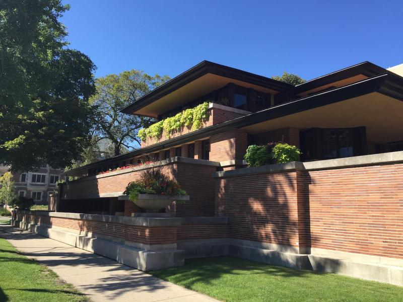 tour Frank Lloyd Wright Roobie House