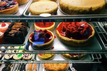 o cheesecake ou a cheesecake