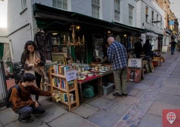 Hampstead Flask Walk flea market