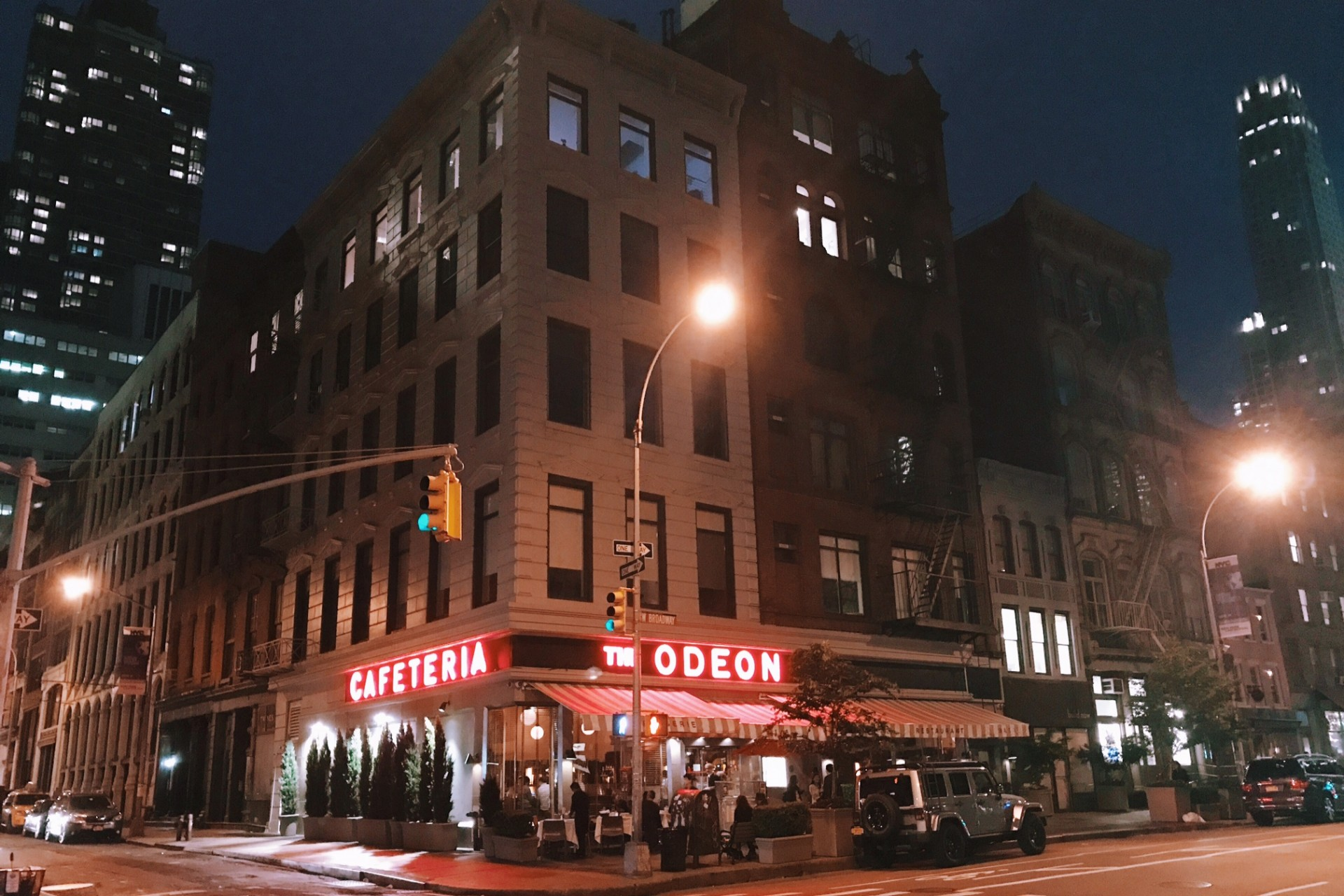 the odeon restaurantes em ny