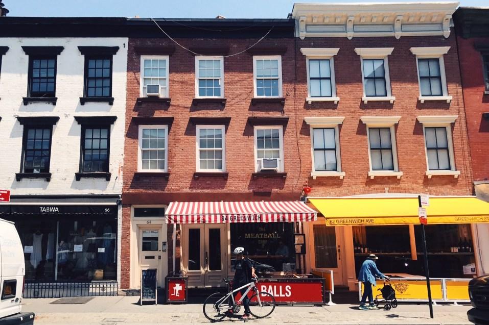 restaurantes em NYC the meatball shop