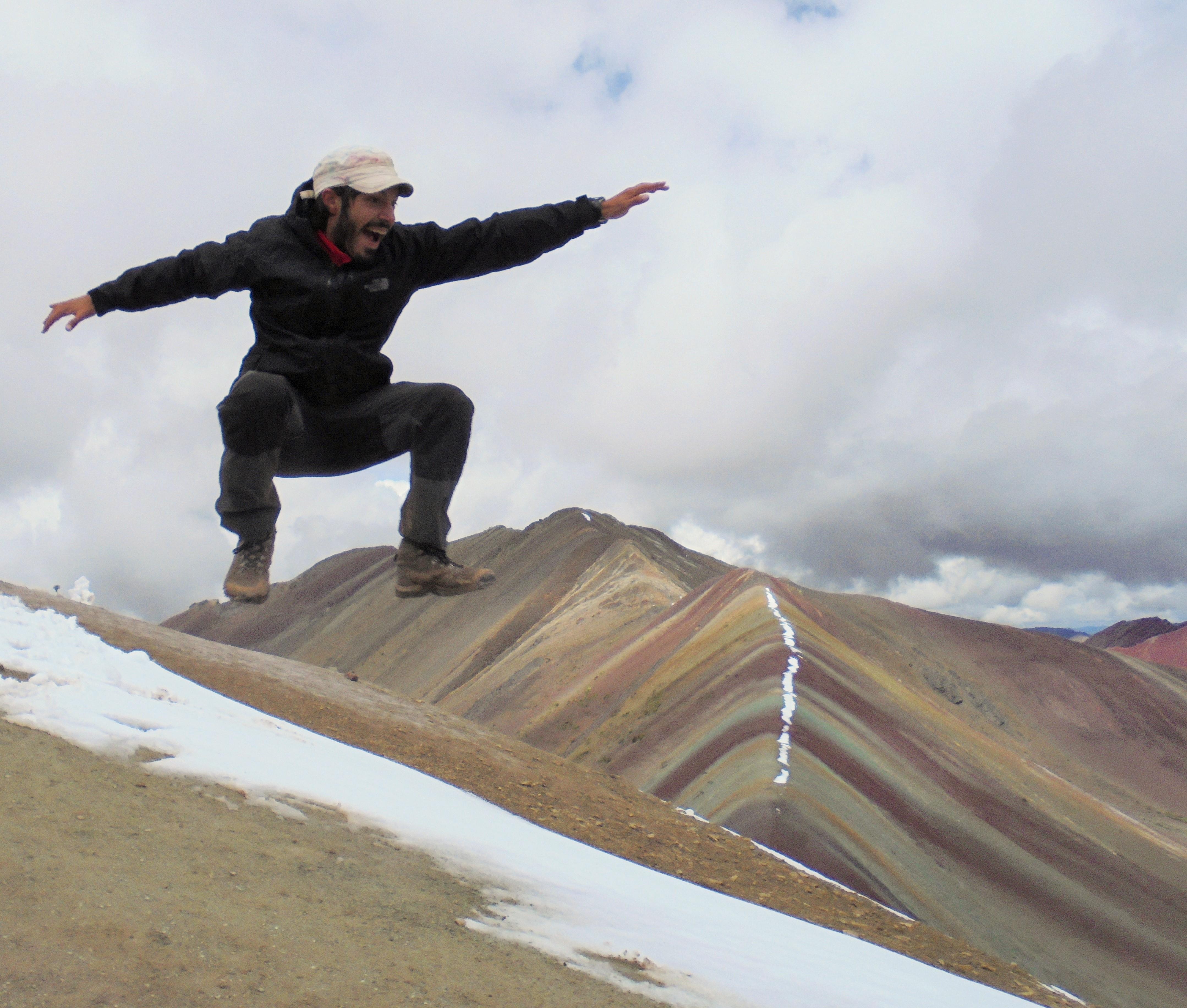 Una montaña de siete colores