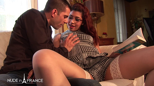 [LaFRANCEaPoil] Lilia – Pretty Young Arab Slut In White Stockings Sodomized By Her English Teacher [720p]