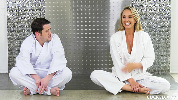 [Cucked] Brett Rossi – No Limp Wimp In My Dojo [1080p]