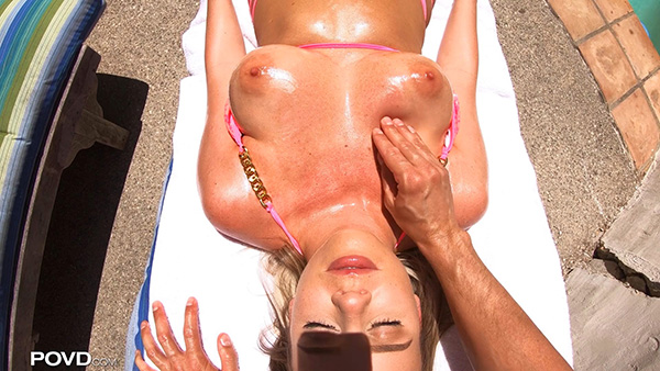 [POVD] Alexis Adams – Sun Tan Rub Down [1080p]
