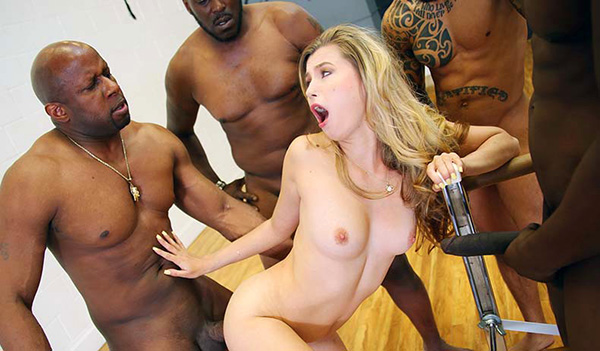 [BlacksOnBlondes – DogfartNetwork] Carolina Sweets [1080p]