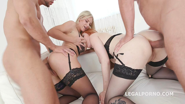 [LegalPorno] Red Vs Blond 1 – Lauren Phillips, Natalie Cherie – Anal Battle – GIO704 [720p HEVC x265]