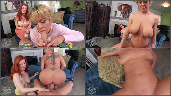 [Clips4Sale – LadyFyreFemdom] Lady Fyre And Dee Williams – Mom Made Me Impregnate Aunt Dee [1080p] (Incest Roleplay)
