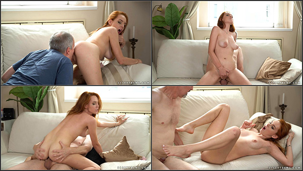 [GrandpasFuckTeens – 21Sextreme] Candy Red, Michael – Sex Is Better Than Hiking [1080p]