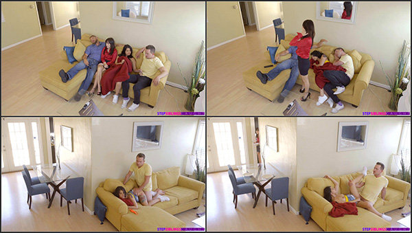 [StepSiblingsCaught – Nubiles] Gina Valentina – Family Flicks [1080p] (Incest Roleplay)