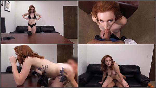 [BackroomCastingCouch] Rowan - 19-Year-Old Redhead First-Timer Tries Anal [720p HEVC x265]