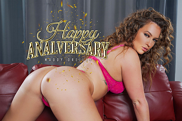 [BadoinkVR] Happy Analversary Starring: Maddy O'Reilly (GearVR/DayDream) [1440p 60FPS]
