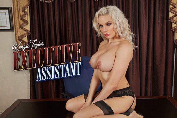 [BadoinkVR] Sexecutive Assistant Starring: Kenzie Taylor (GearVR/DayDream) [1440p 60FPS]