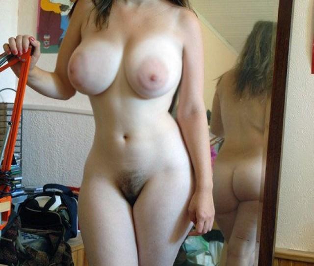 Busty Nude Girl Posing