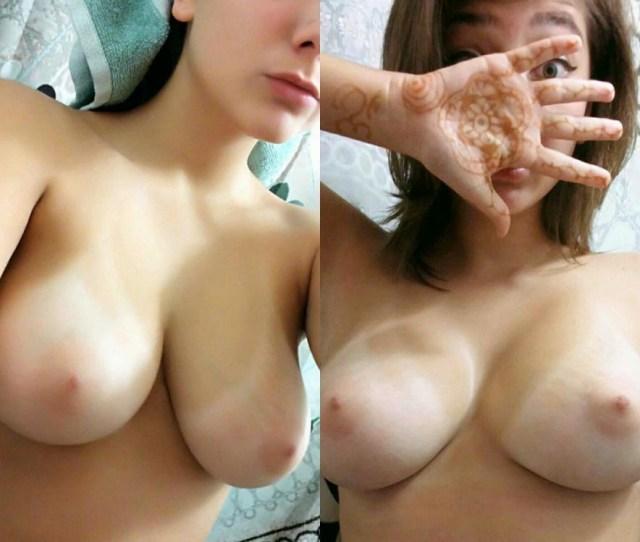 Cute Teen Tits Selfie