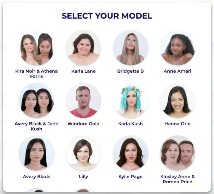 models from jerkmate