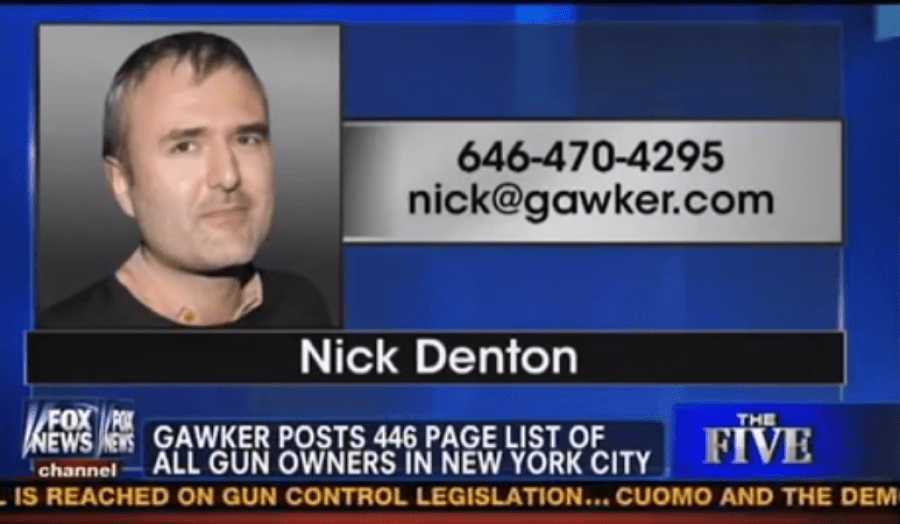 NYC Posters Call For Jailing Gawker Founder…For Revenge Porn Against a Minor