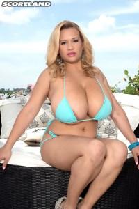 Busty Bikini Baby Featuring: Liza Biggs