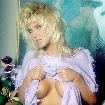 Andi Bruce Penthouse Pet of the month August 1987