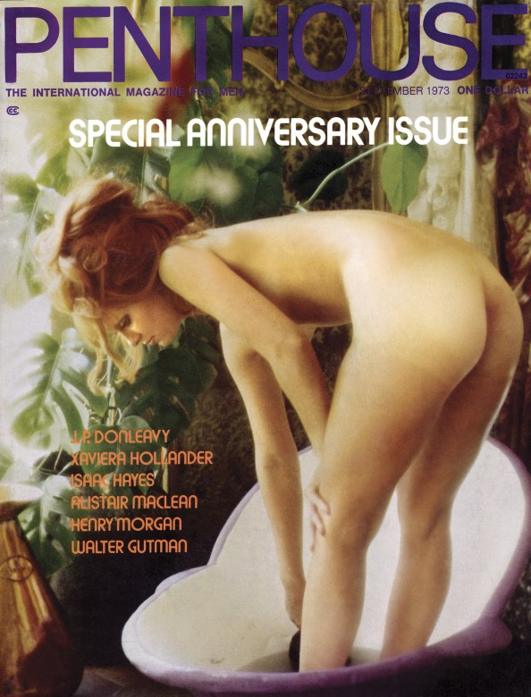 Anneka de Lorenzo on the cover of Penthouse magazine