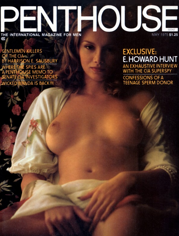 Ava Gallay on the cover of Penthouse magazine