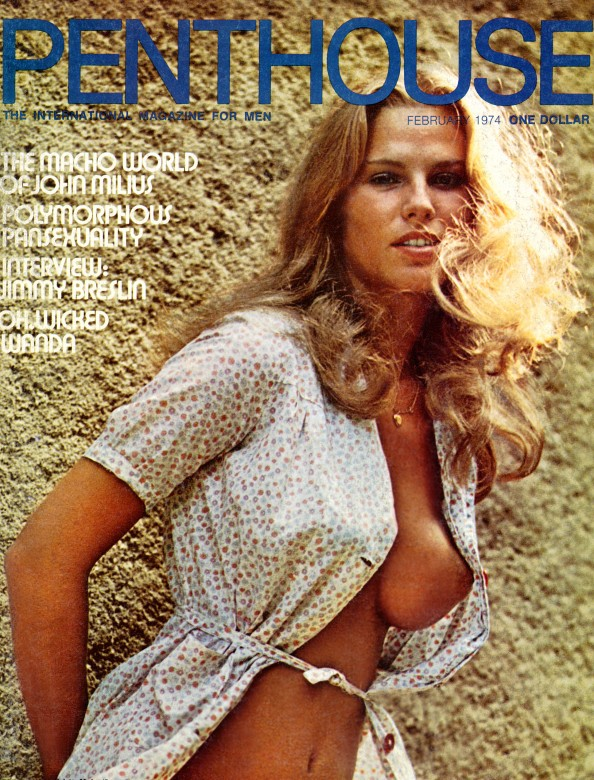 Beatrice Vogler on the cover of Penthouse magazine