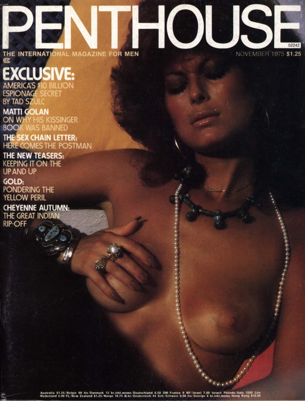 Bonnie Dee Wilson on the cover of Penthouse magazine