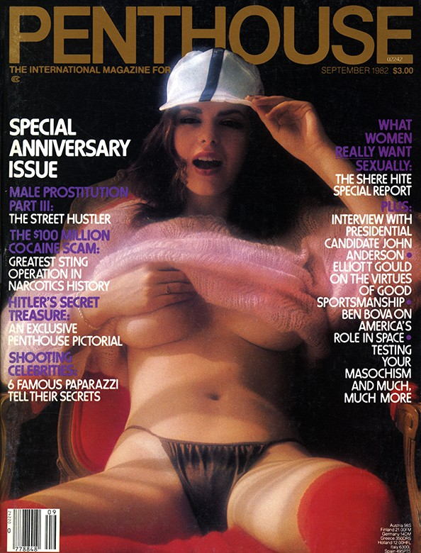 Lee Ann Lee on the cover of Penthouse Magazine