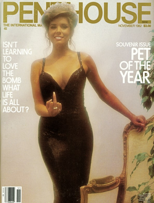 Nicole Monrowe on the cover of Penthouse Magazine