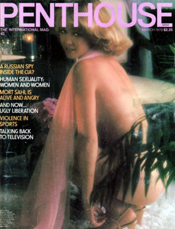 Shastra Lindstrom on the cover of Penthouse magazine March 1979