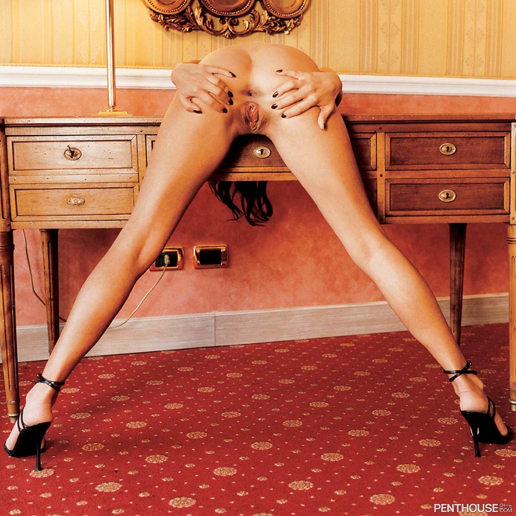 Aneta Smrhova nude in the December 2003 issue of Penthouse 008
