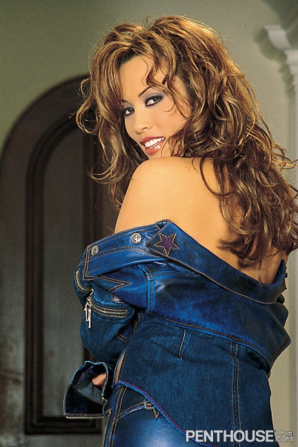 Kira Kener nude in her December 2002 Penthouse Pet Of The Month photo spread 002